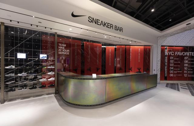 Nike's House of Innovations blends digital and physical store experience.