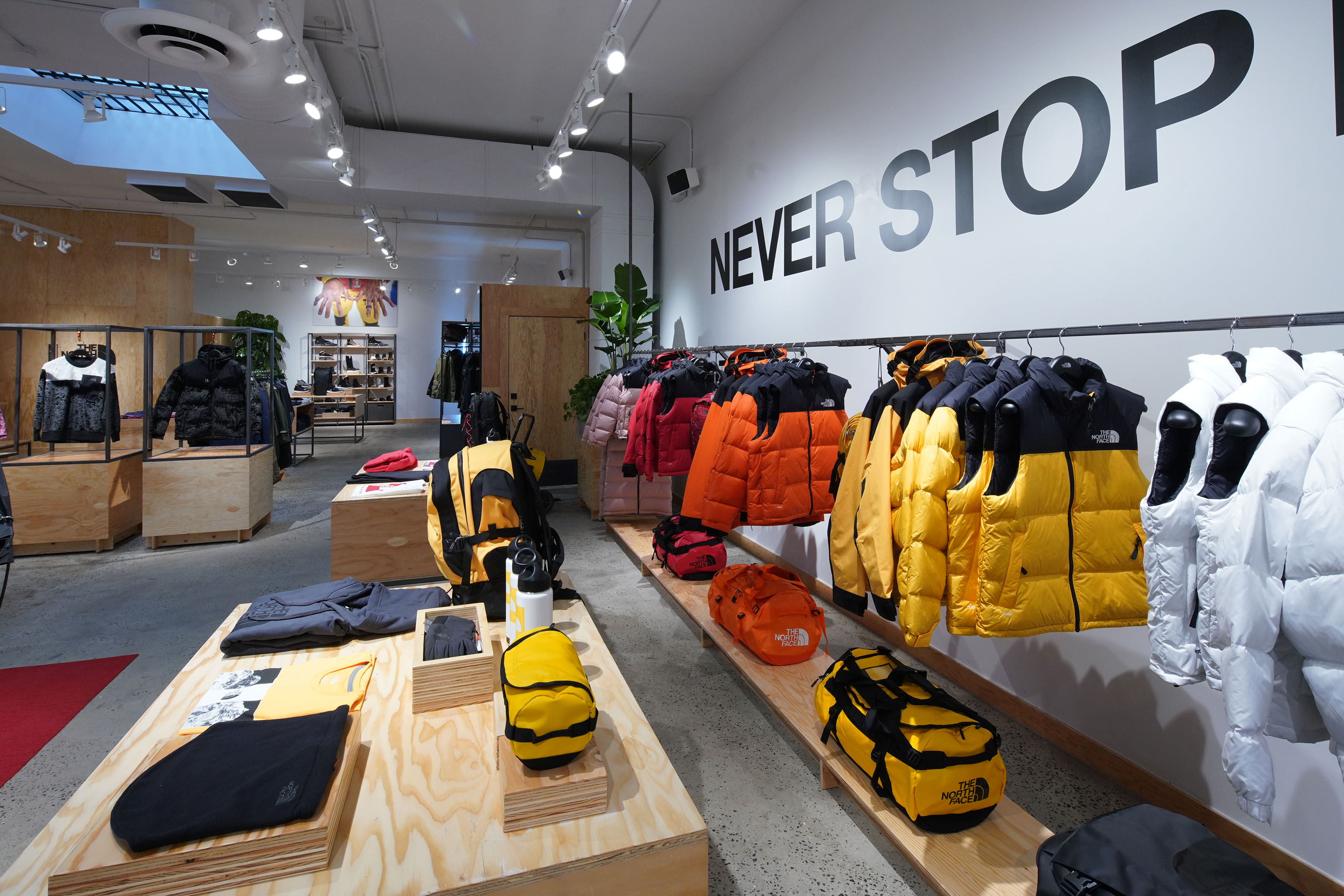 The North Face store in Brooklyn.