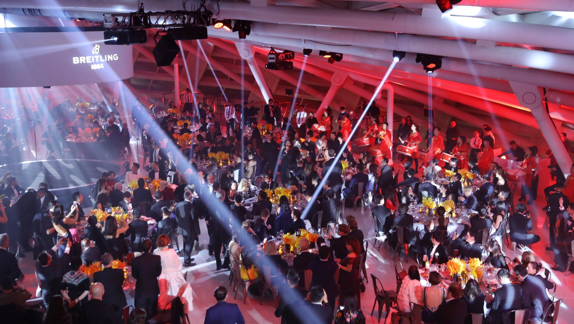 The Nov. 20 gala dinner Breitling hosted in Beijing.