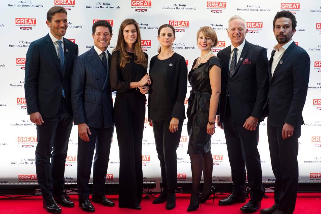 The 2018 U.K.-Italy Business Awards.