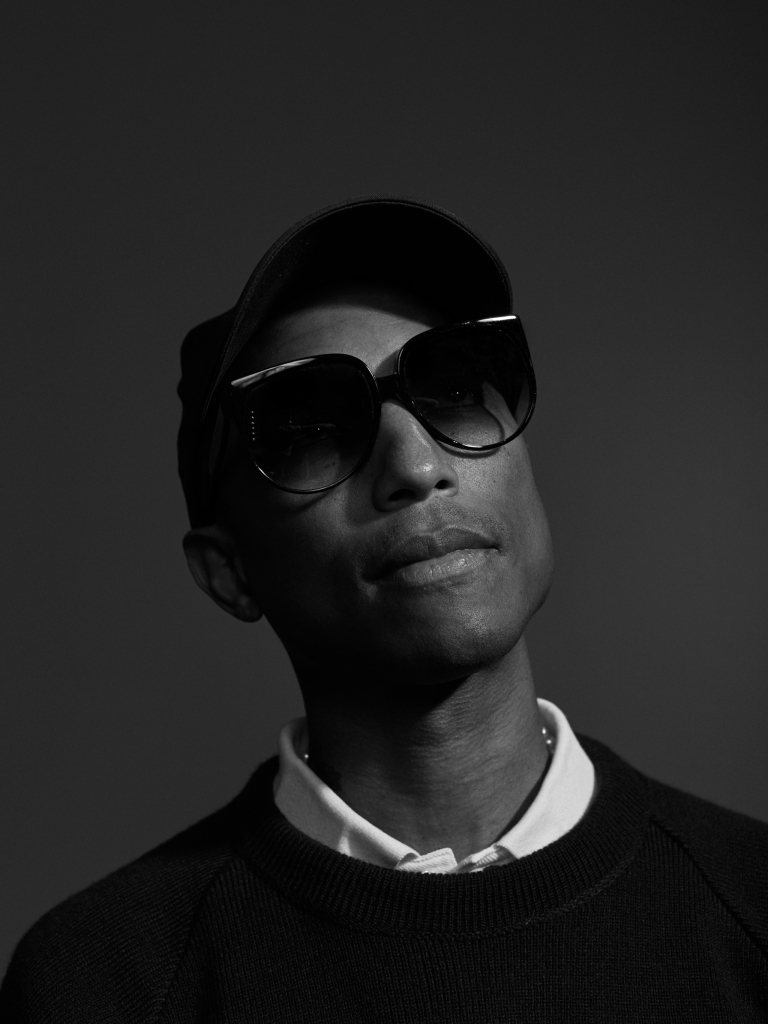 Pharrell Williams photographed in Los Angeles, CA