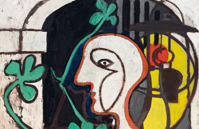 """Picasso's """"La Lampe."""""""