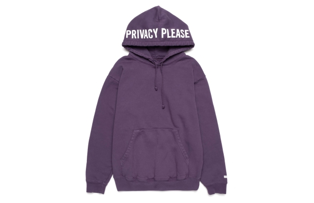The Privacy Please hoodie.
