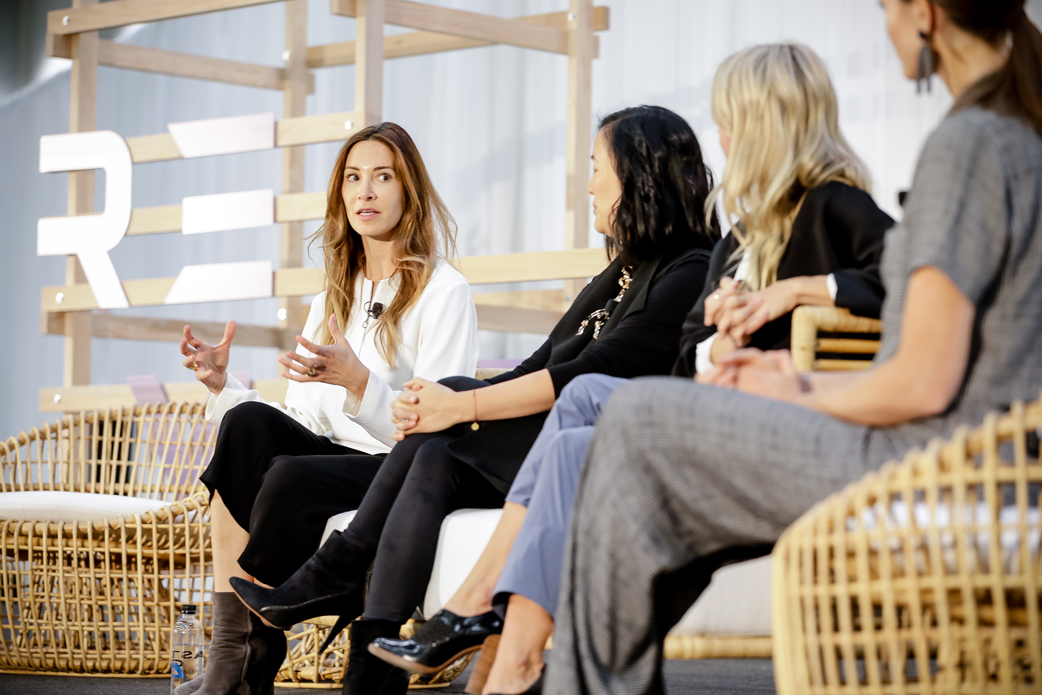 Vicki von Holzhausen, Melissa Mash and Nina Faulhaber talked conscious consumers during one of the Remarket panels.