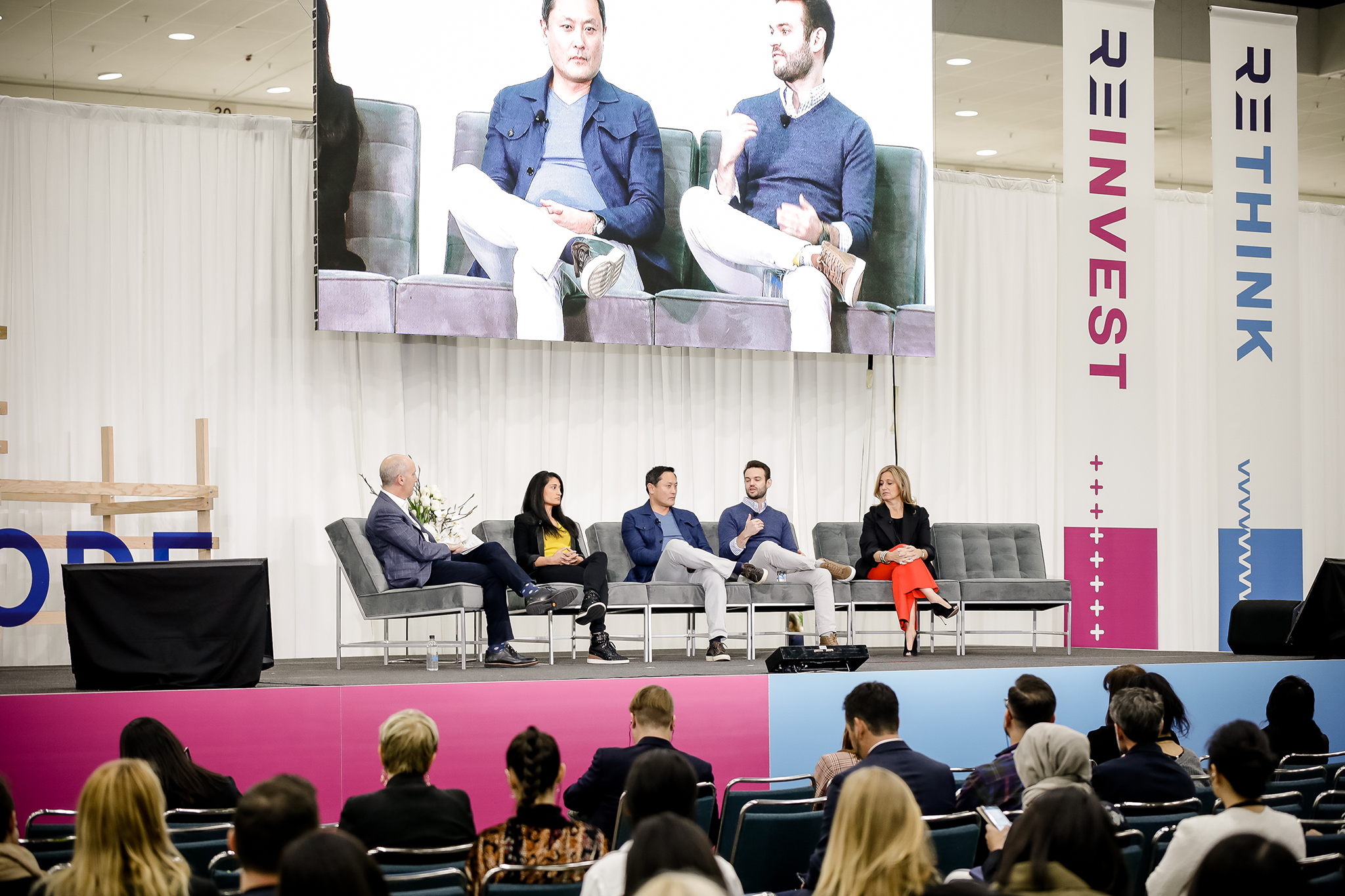 Panelists in the Reinvest track tackled valuations, venture capital and scaling a business.