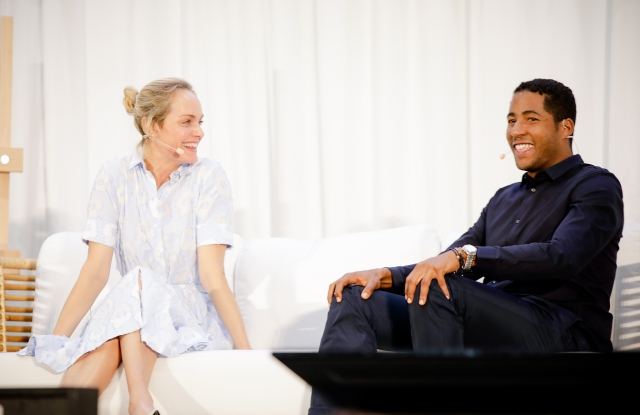 Amber Valletta and Maison de Mode cofounder Hassan Pierre talked influencers and sustainability.