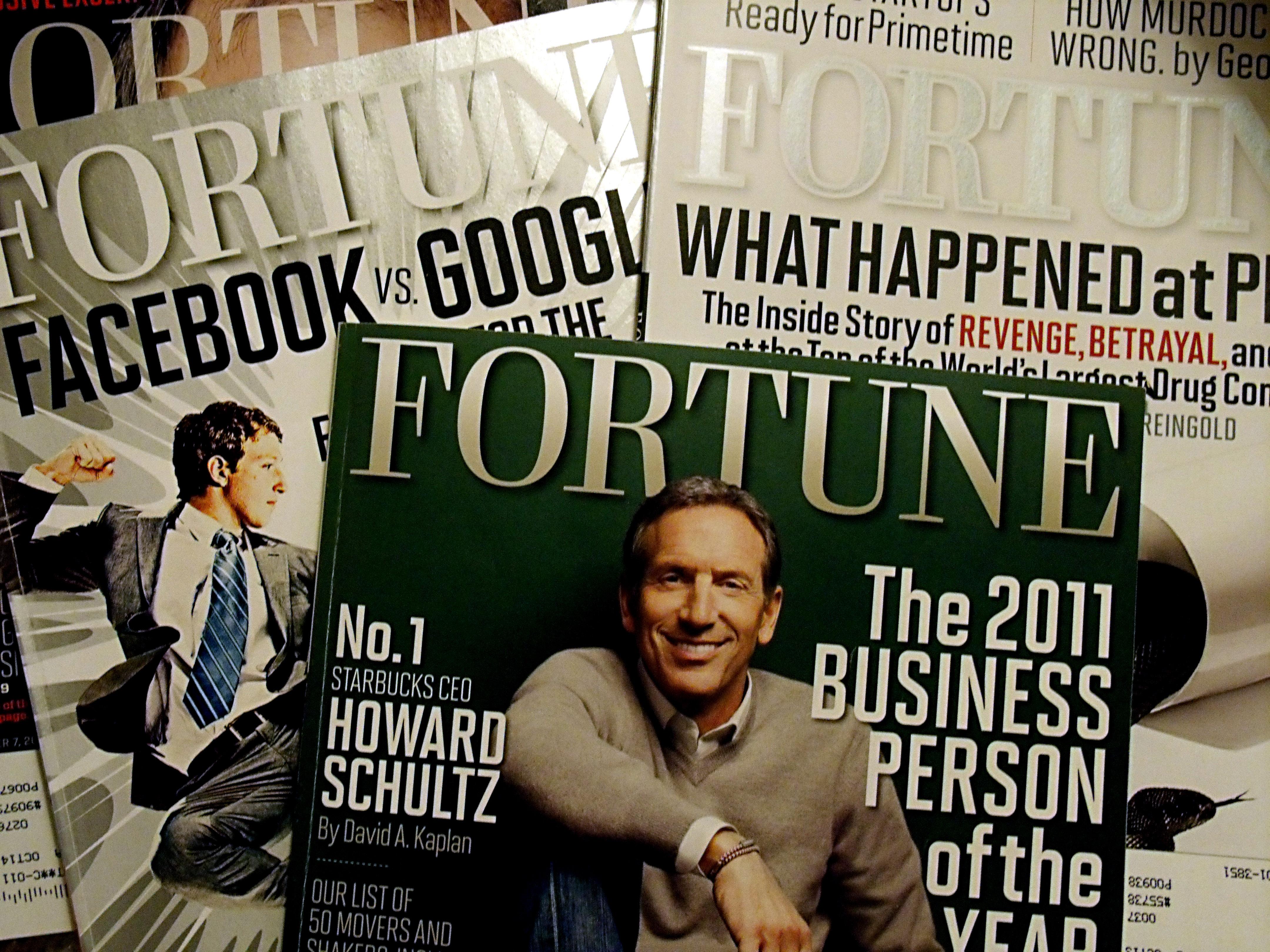 'Fortune' magazineVarious magazines