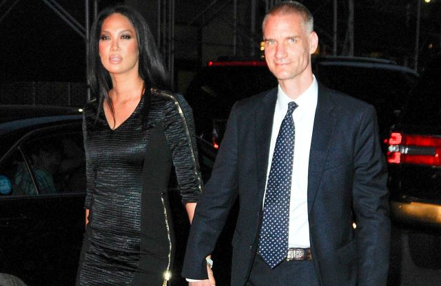 Kimora Lee Simmons and Tim LeissnerCelebrities out and about, New York, America - 04 Jun 2014