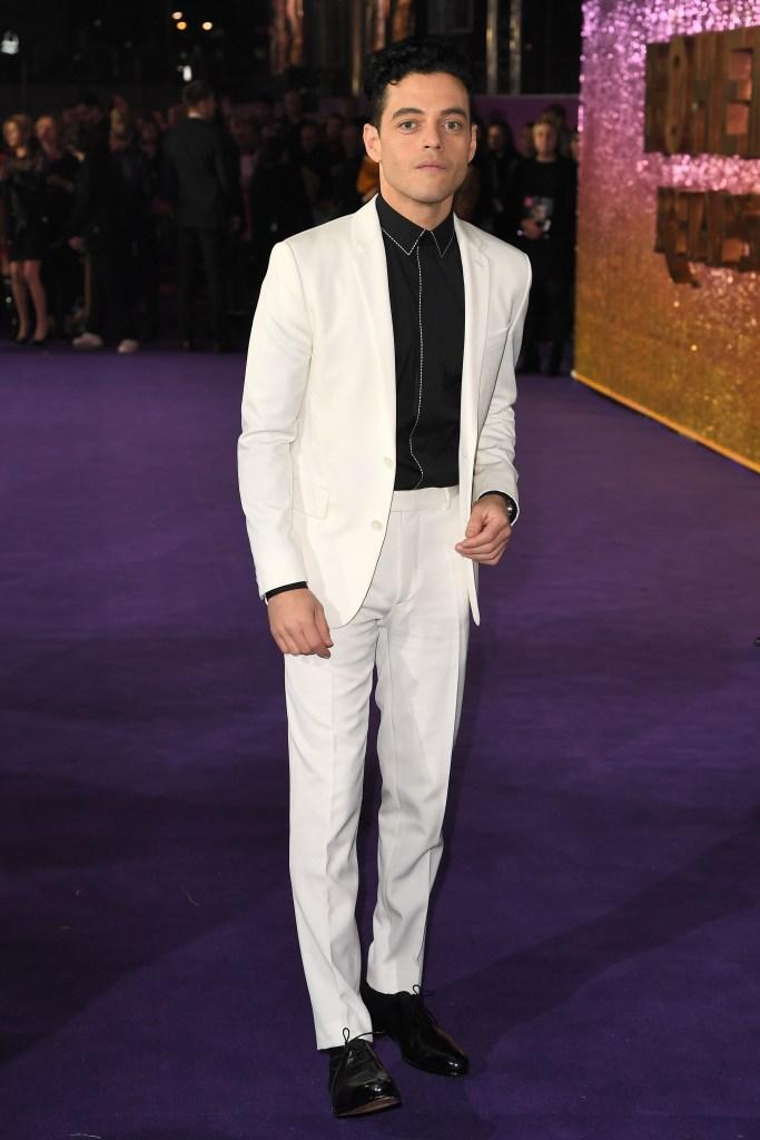 Rami Malek'Bohemian Rhapsody' film premiere, London, UK - 23 Oct 2018WEARING BERLUTI