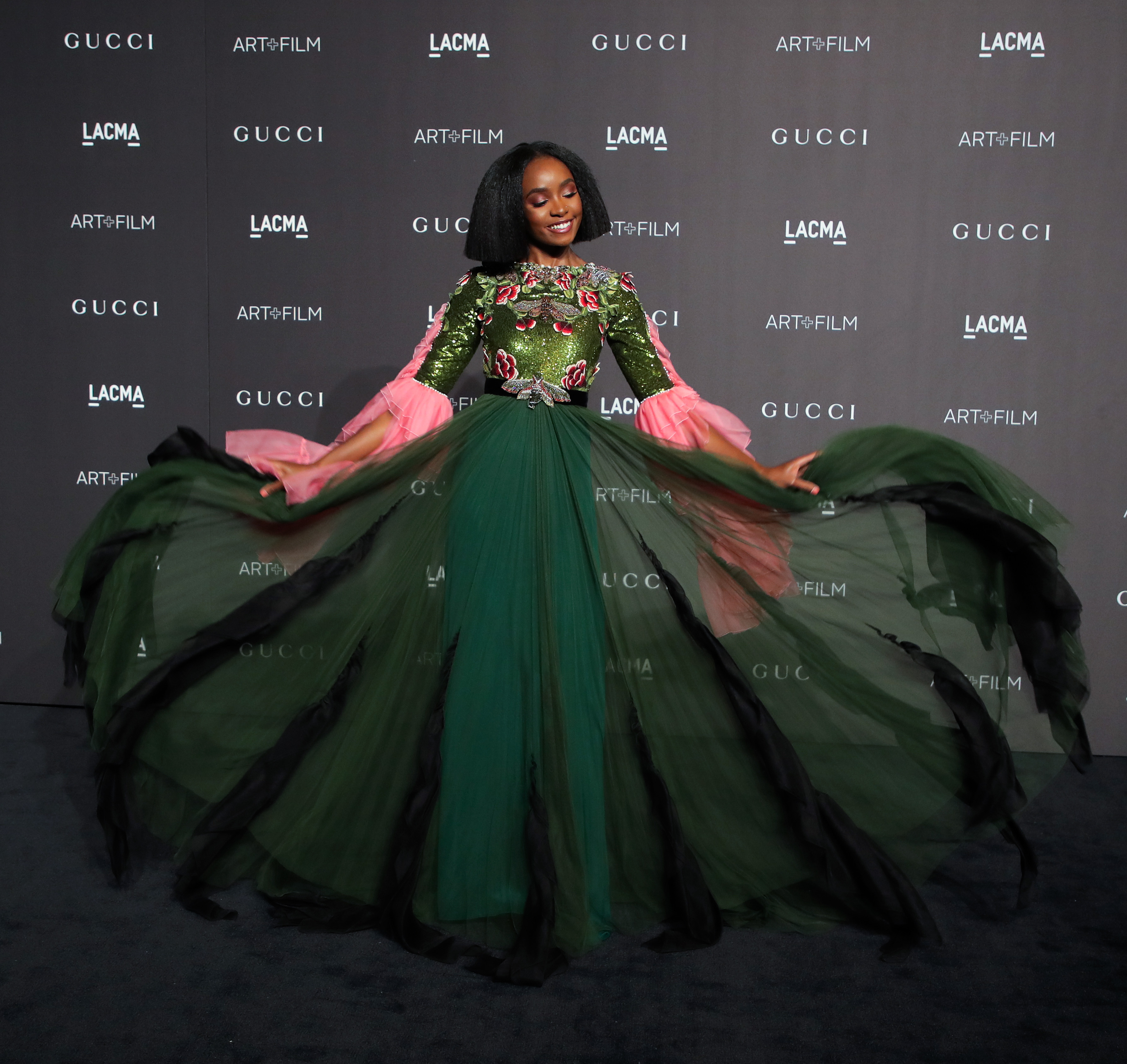 Kiki Layne LACMA: Art and Film Gala, Los Angeles, USA - 03 Nov 2018
