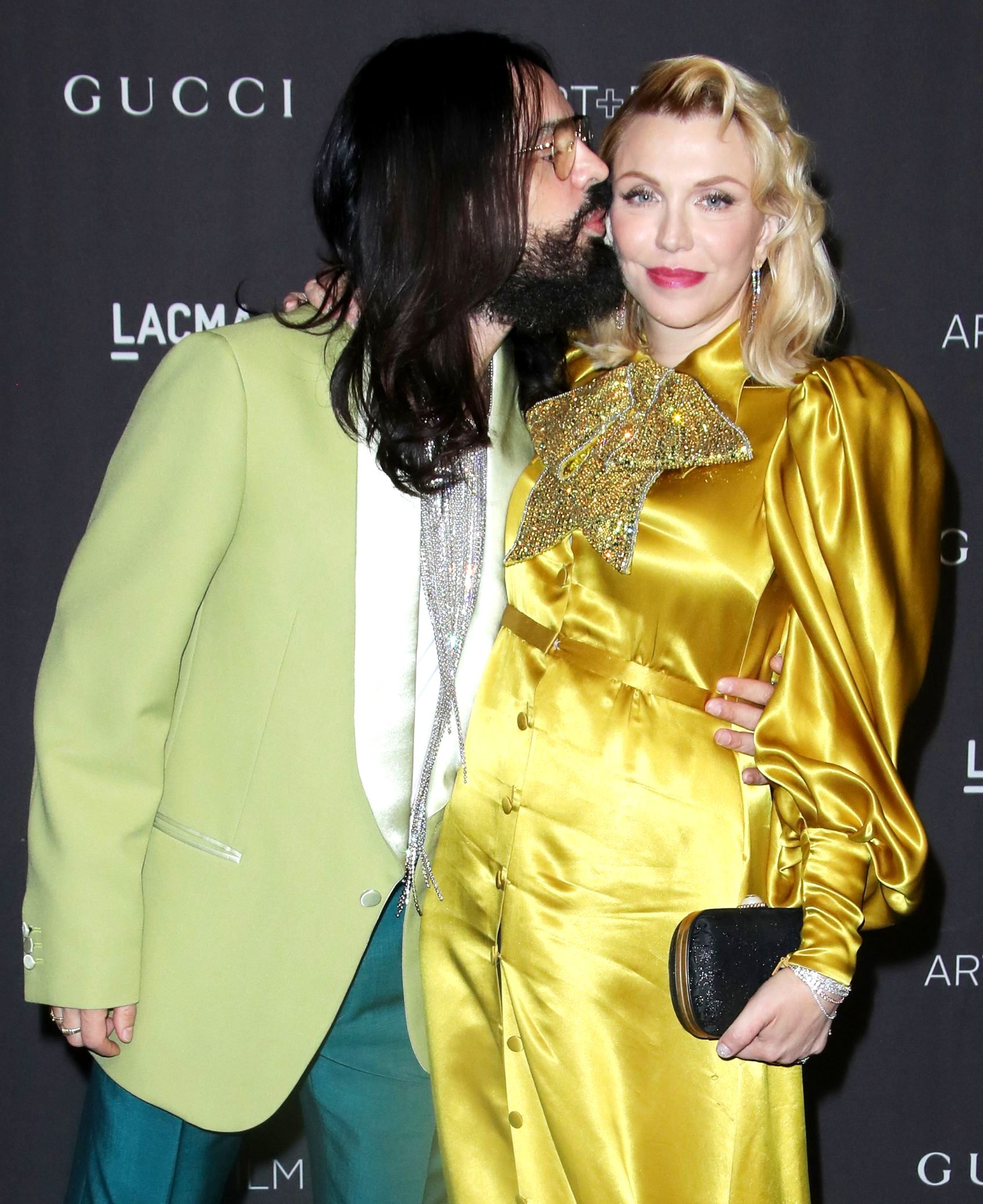 Alessandro Michele and Courtney LoveLACMA: Art and Film Gala, Los Angeles, USA - 03 Nov 2018