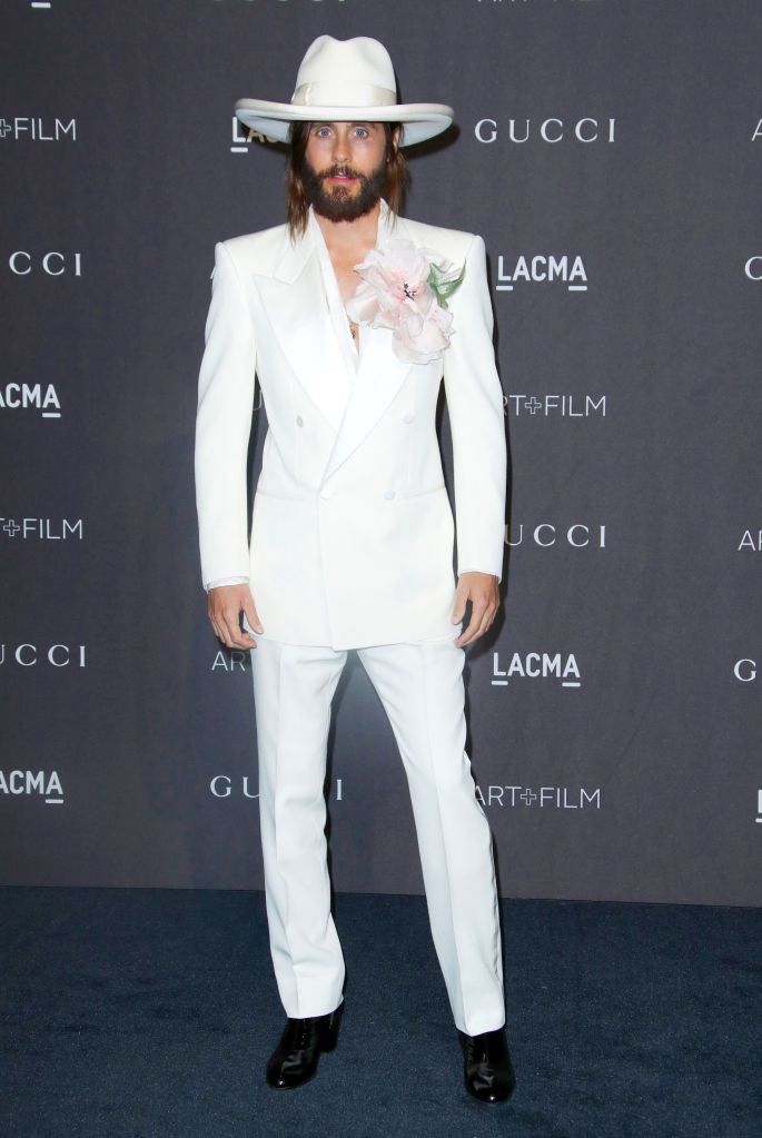 Jared LetoLACMA: Art and Film Gala, Los Angeles, USA - 03 Nov 2018Wearing Gucci