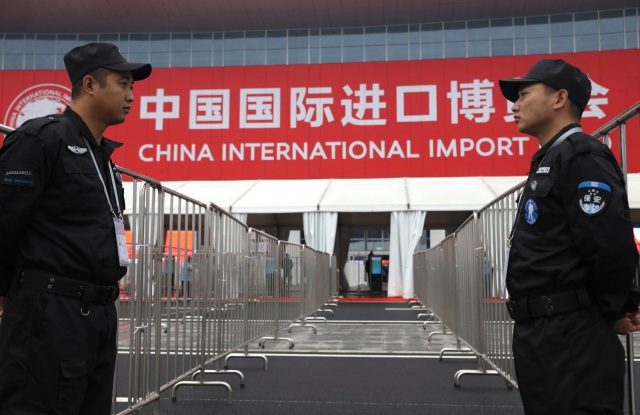 China hosts its inaugural International Import Expo in Shanghai.
