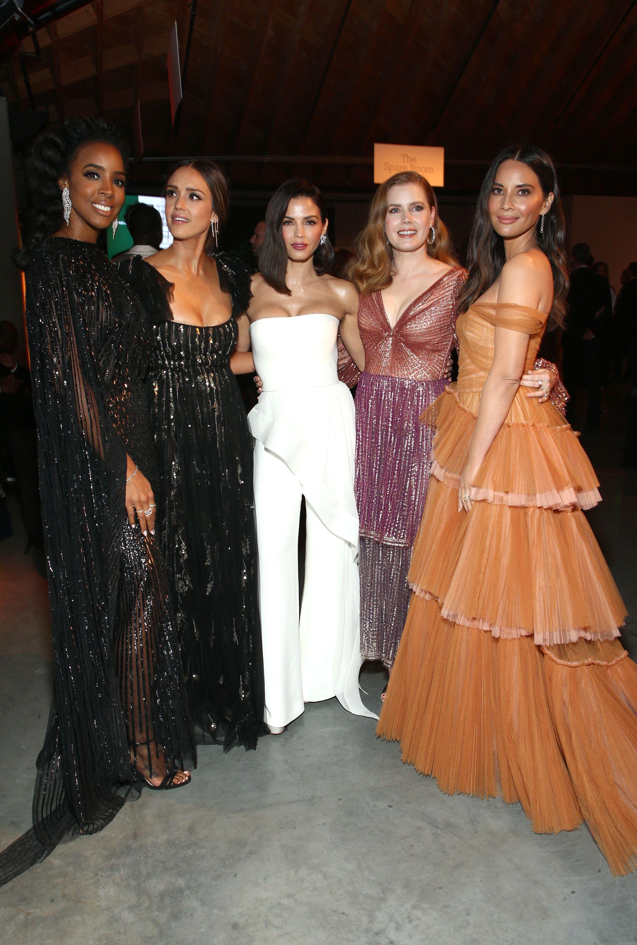 Kelly Rowland, Jessica Alba, Jenna Dewan, Amy Adams and Olivia MunnBaby2Baby Gala, Inside, Los Angeles, USA - 10 Nov 2018