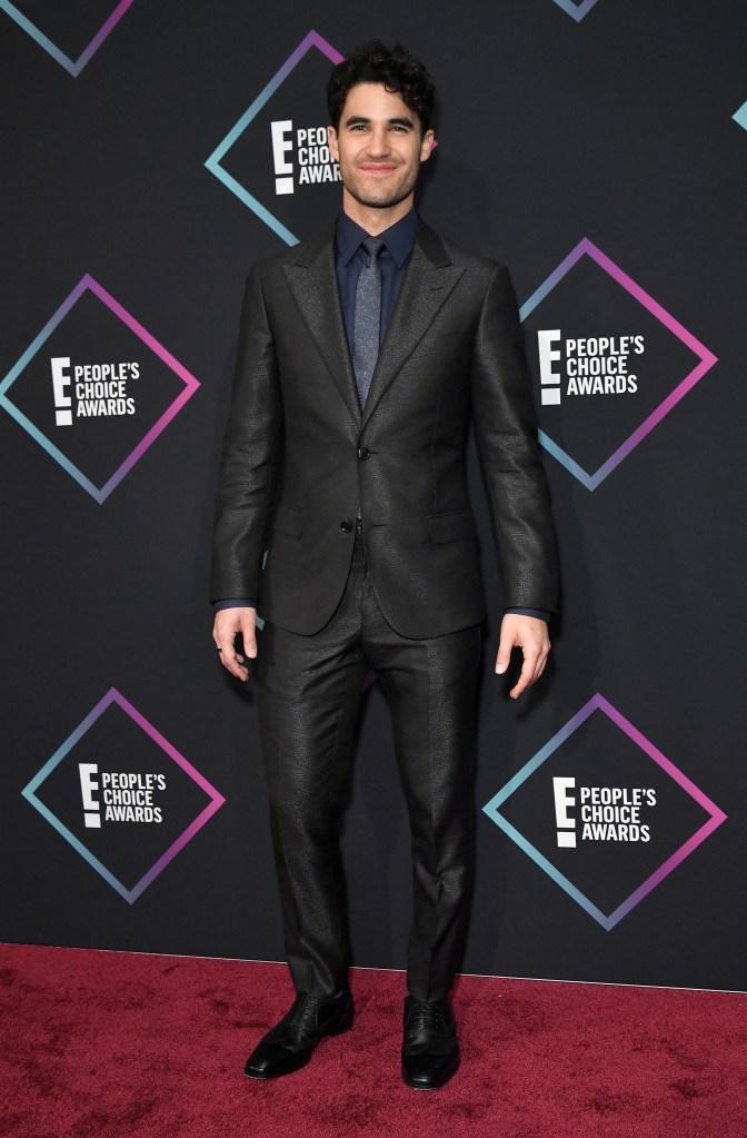 Darren CrissPeople's Choice Awards, Press Room, Los Angeles, USA - 11 Nov 2018