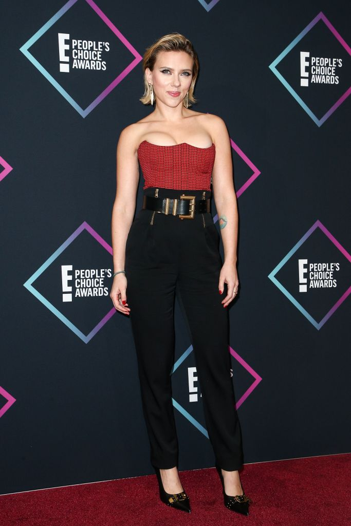 Scarlett JohanssonPeople's Choice Awards, Press Room, Los Angeles, USA - 11 Nov 2018