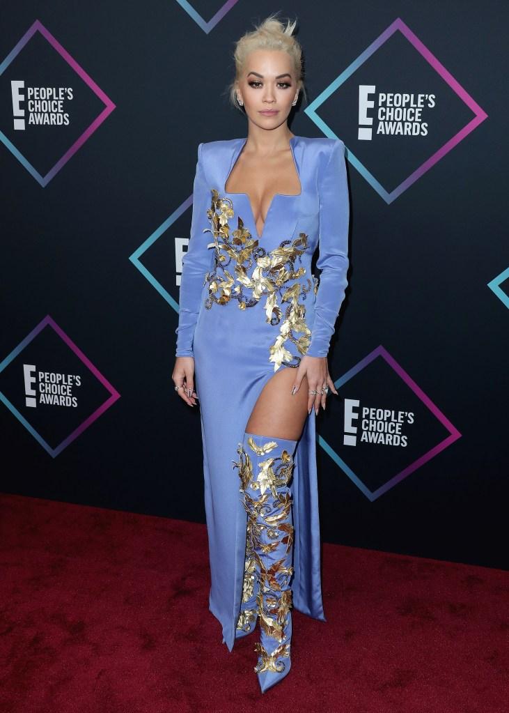 Rita OraPeople's Choice Awards, Arrivals, Santa Monica, Los Angeles, USA - 11 Nov 2018