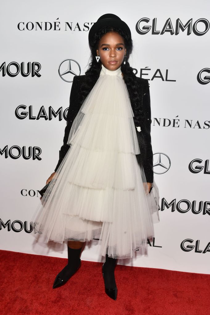Janelle MonaeGlamour's 28th annual Women of the Year Awards, Arrivals, New York, USA - 12 Nov 2018Wearing Jean Paul Gaultier Same Outfit as catwalk model *9731945bf