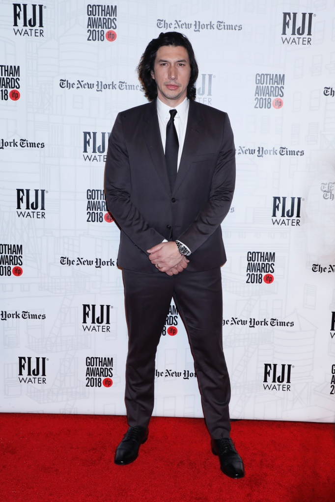 Adam Driver28th Annual IFP Gotham Awards, Arrivals, New York, USA - 26 Nov 2018