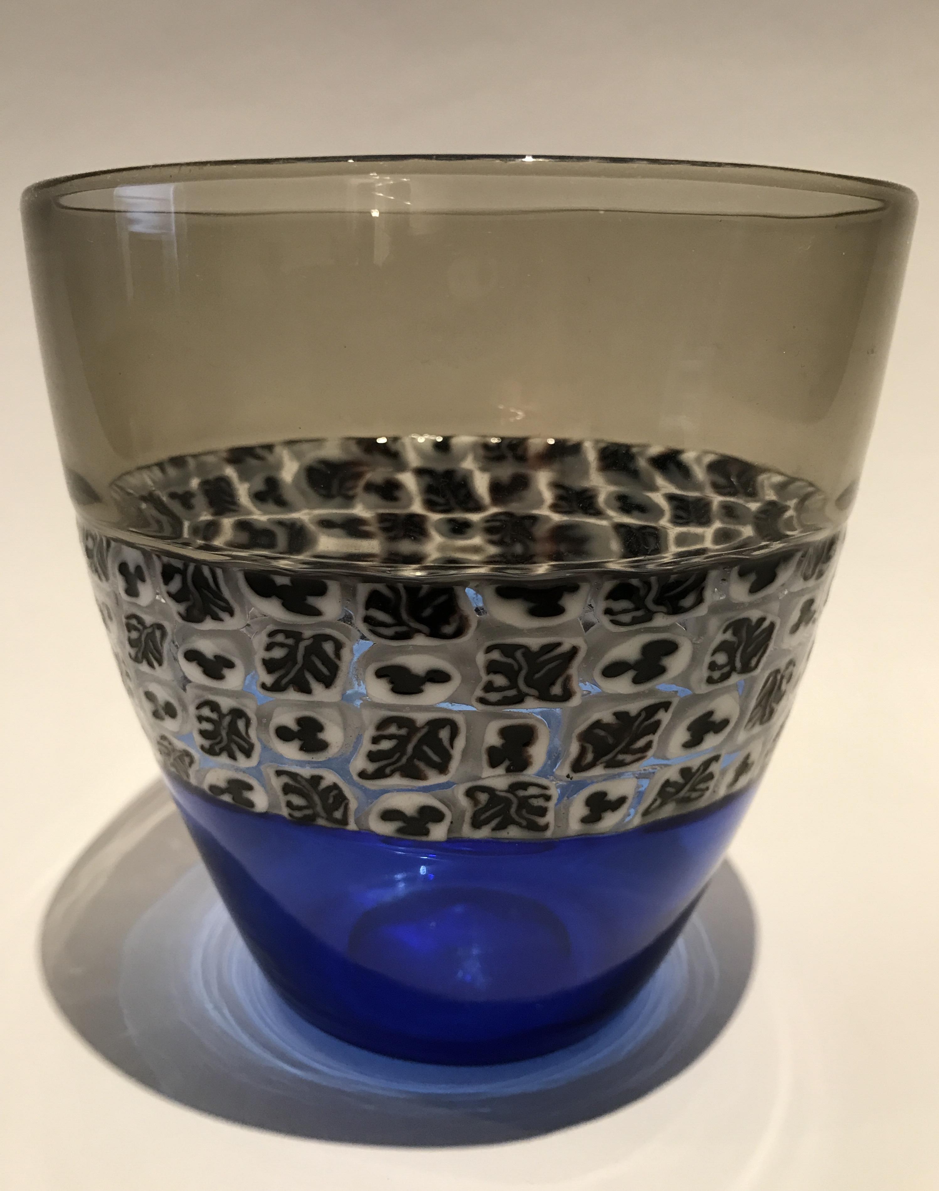 A Riccardo Licata Doppio Incalmo Venini Vase, circa 1955, at Glass Past.