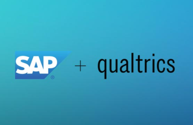 SAP and Qualtrics in a $8 billion deal.