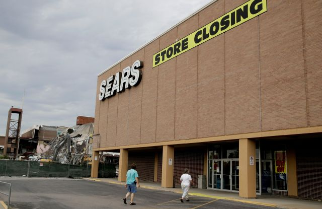 A Sears store slated for closing in Overland Park, KanSears, Overland Park, USA, Jul 2017.