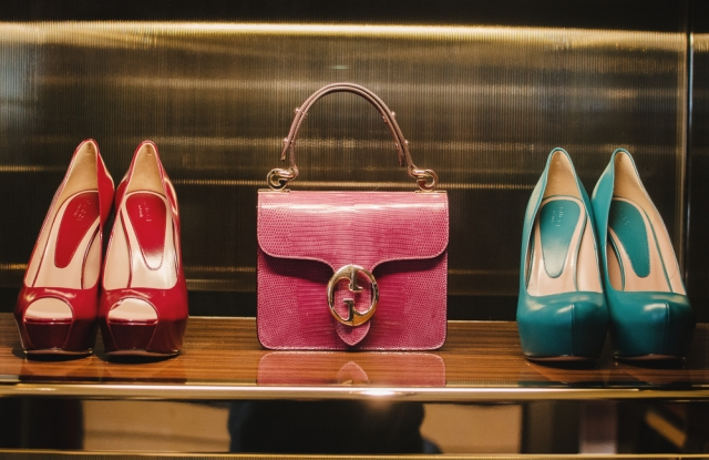 Using the luxury brand image to channel marketing messages to consumers.