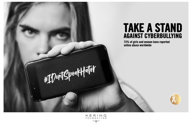 The Kering Foundation's #IDontSpeakHater campaign
