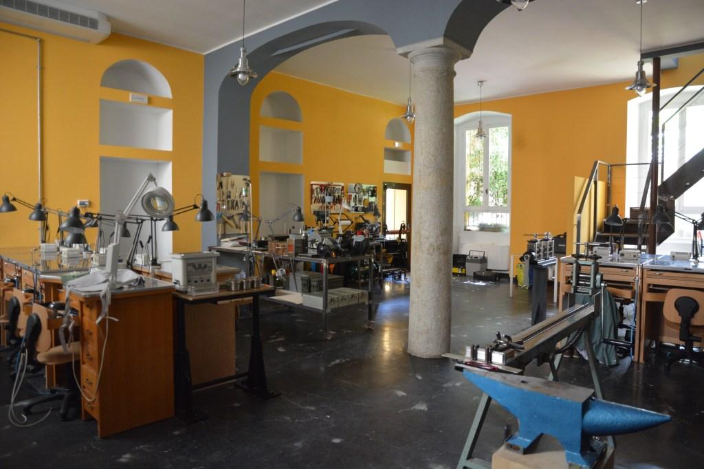 The new school located on Milan's Via Tortona