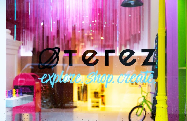 Terez opens pop-up at 158 Mercer Street.