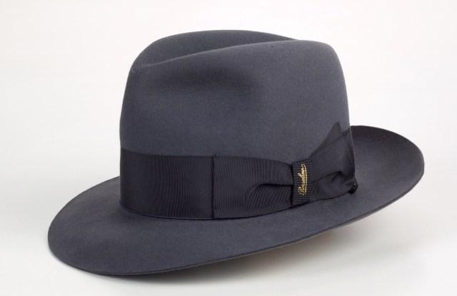 "The ""Bogart"" fedora hat by Borsalino."