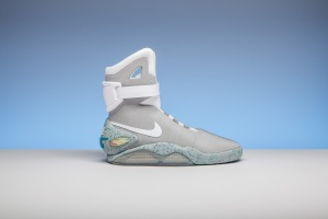 The limited edition Nike Mag sold by Stadium Goods.