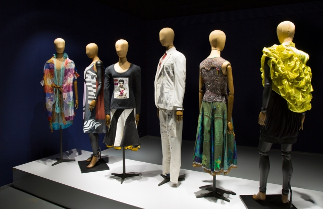 Looks on show at the Zeitz MOCAA Museum celebrating 21 years of South African Fashion Week.