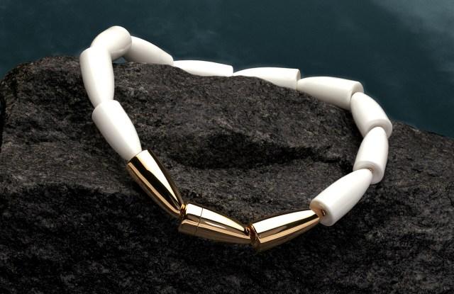 A Vhernier necklace.