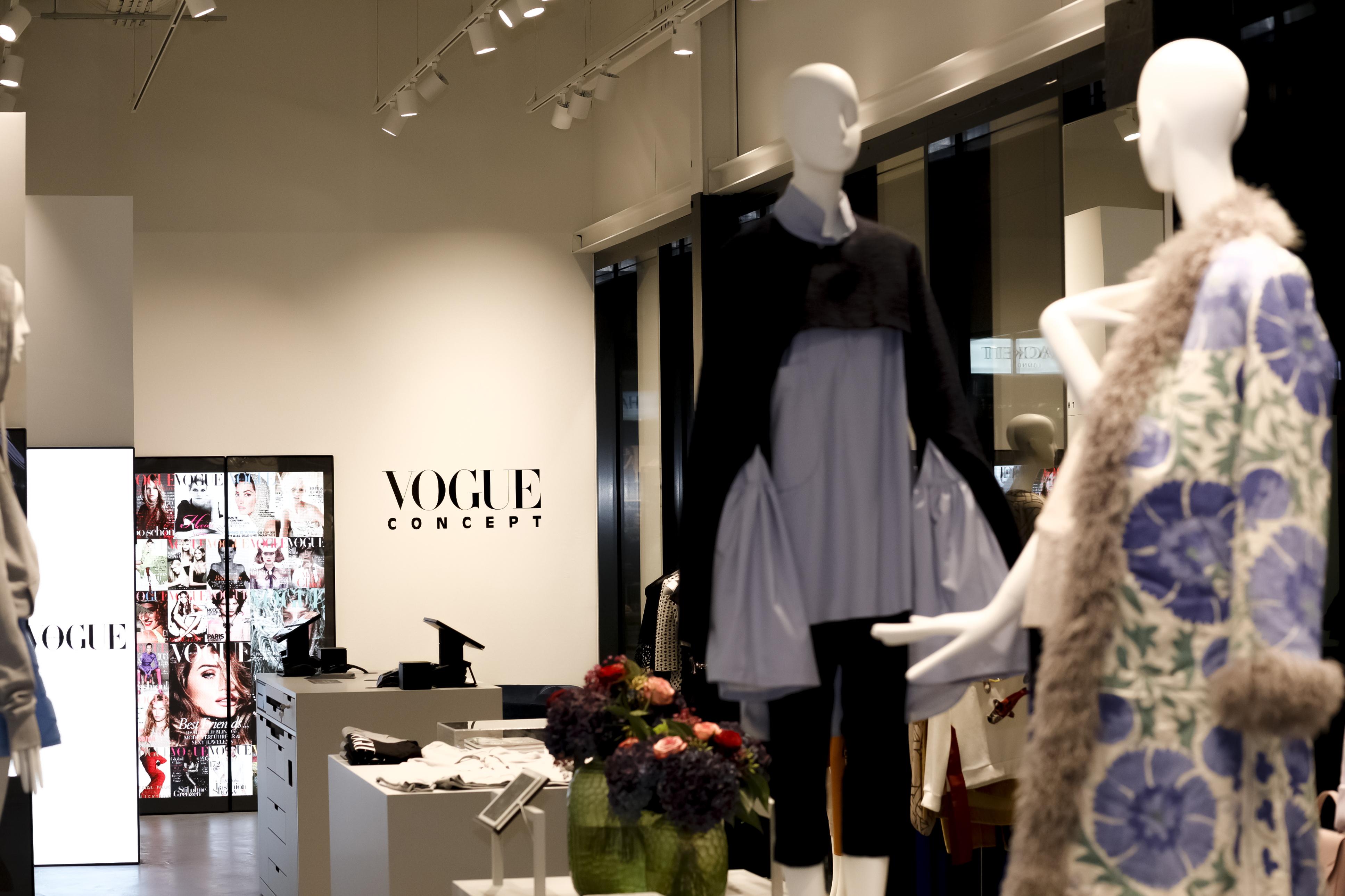 6.11.2018 Vogue Concept Store Eröffnung