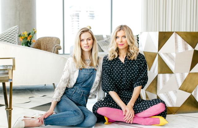 Brooklyn Decker and Whitney Casey of Finery