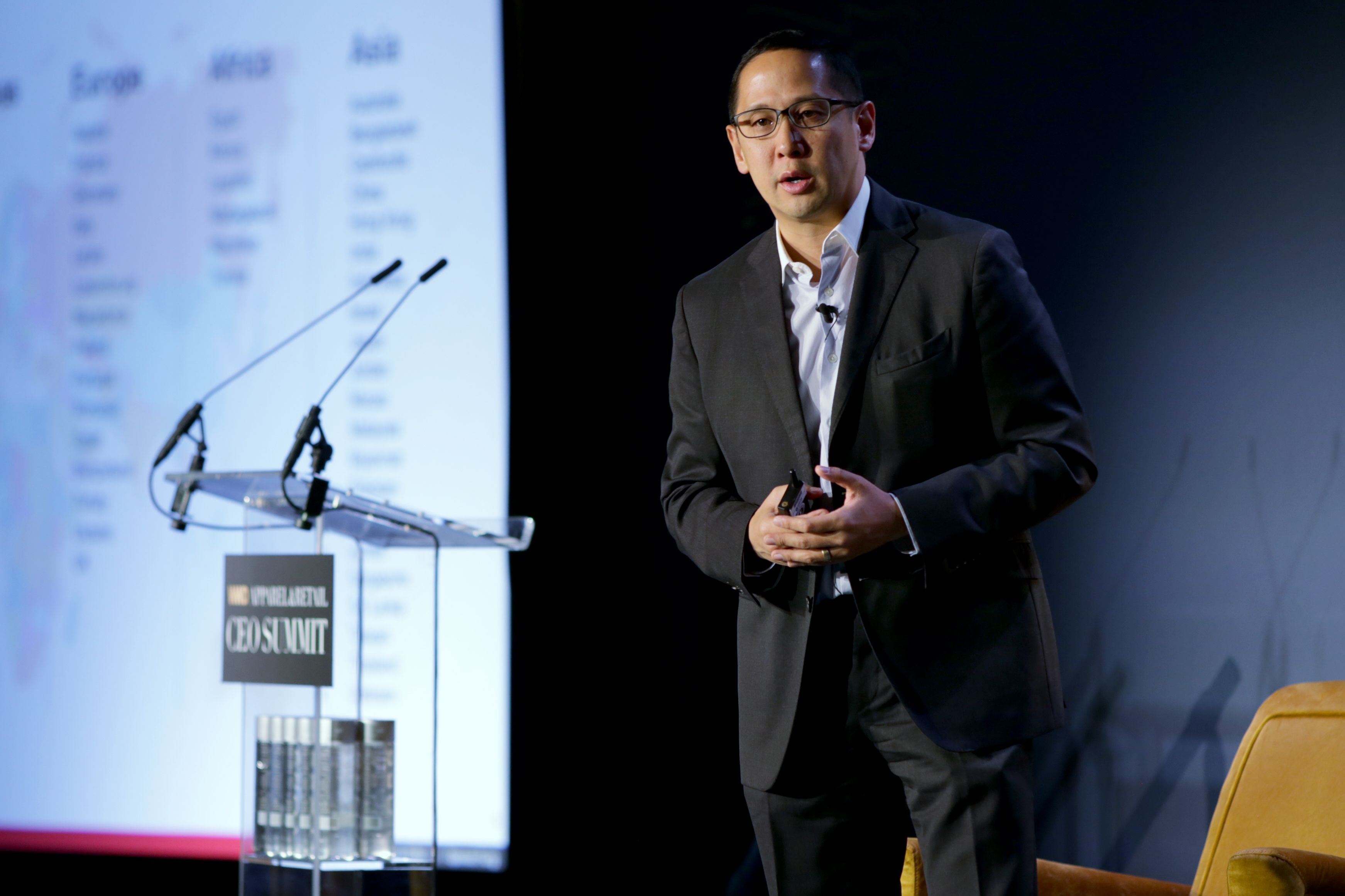 Spencer FungWWD Apparel and Retail CEO Summit, New York, USA - 31 Oct 2018