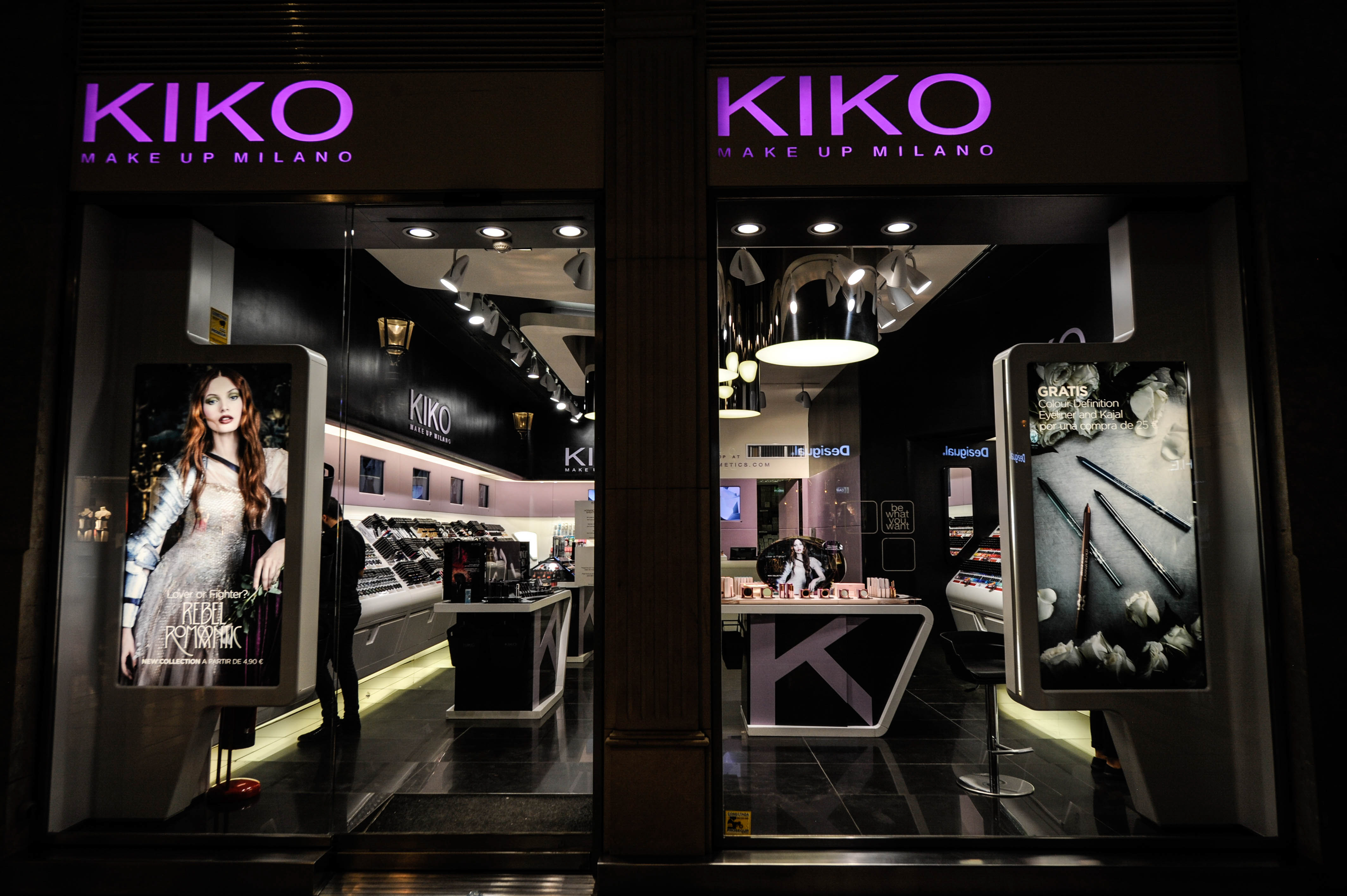 Cosmetic shop KIKOVARIOUS