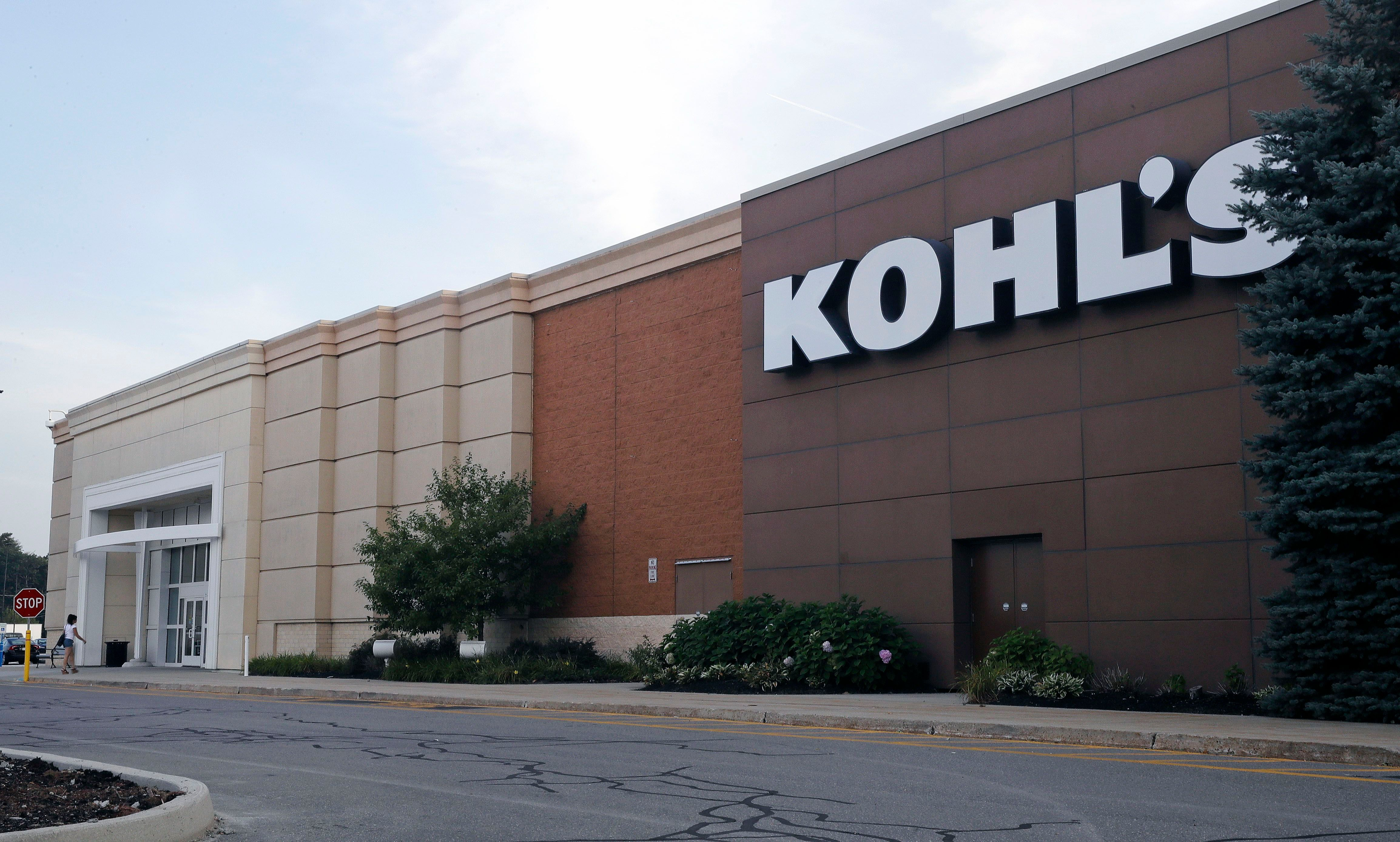 This, photo, shows a Kohl's retail store in Salem, N.H. Kohl's long-time CEO Kevin Mansell is retiring and will be replaced by Michelle Gass, a former Starbucks executive who has been with the company since 2013. The company says the change in leadership will take place in May 2018Kohls CEO, Salem, USA - 22 Aug 2017
