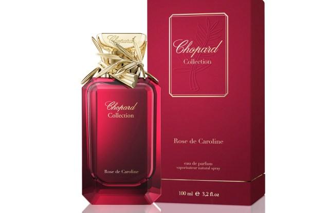 Chopard's new Rose de Caroline fragrance.