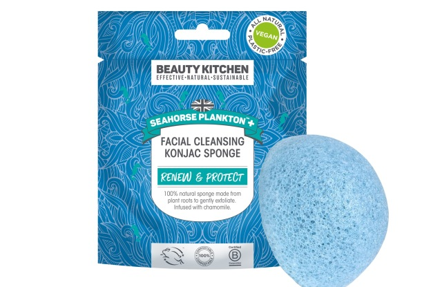 Beauty Kitchen sheet mask and sponge