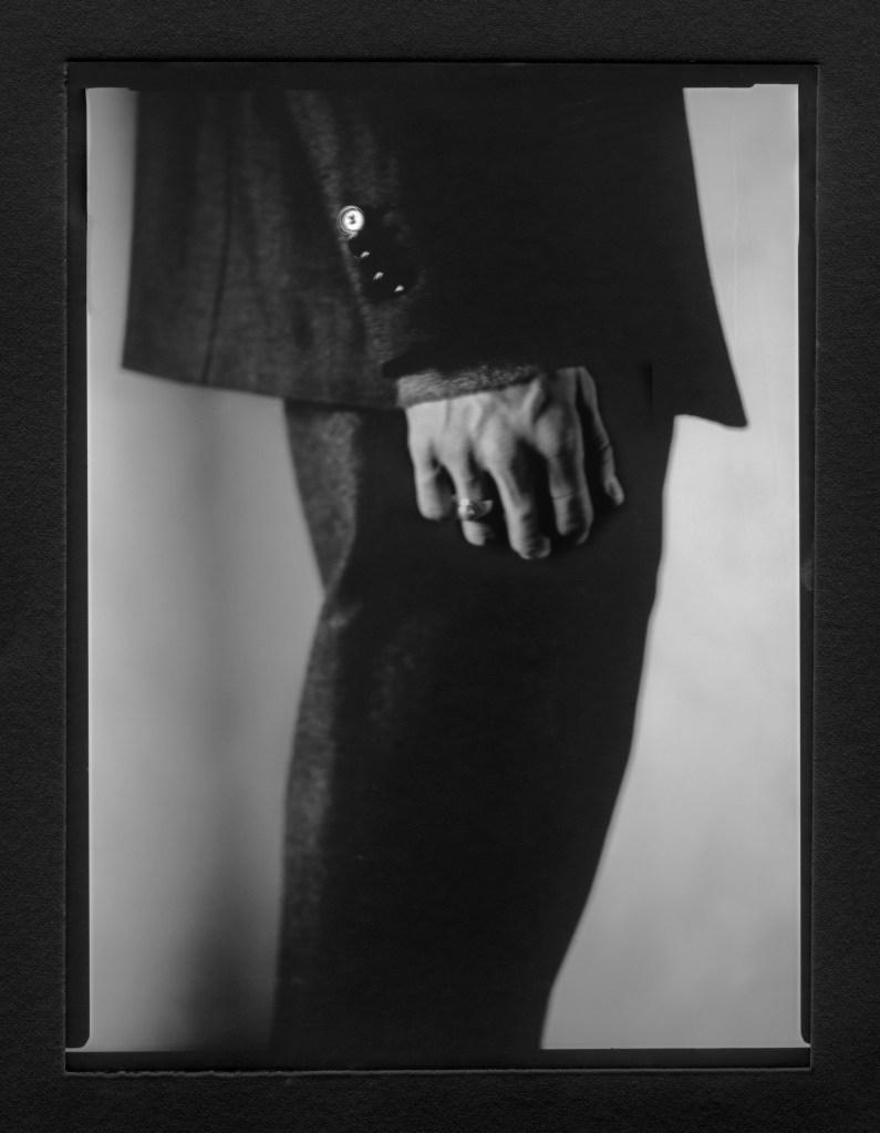 A detail from Aldo Maria Camillo debuting collection