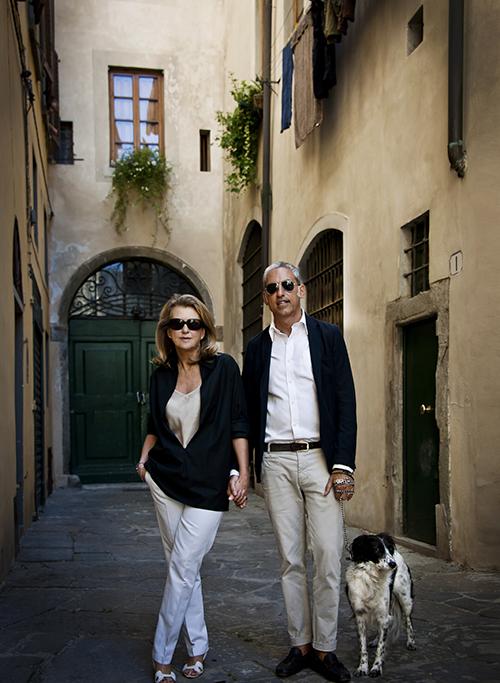 Alessandra Tabacchi and Franco Mariotti.