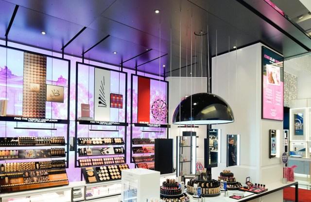 The Bloomingdale's cosmetics floor.