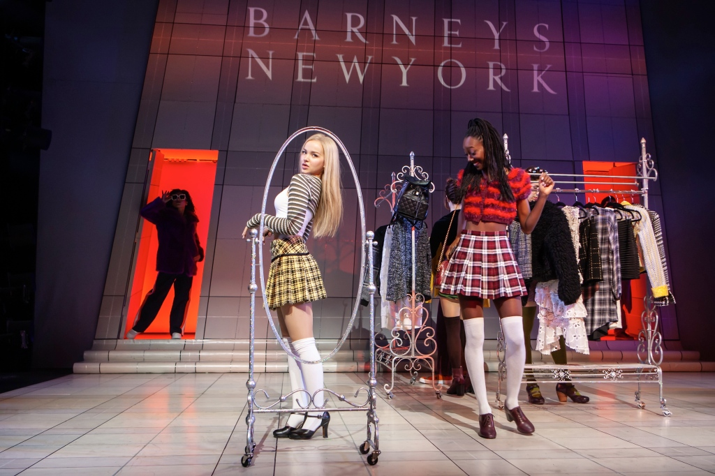 """A still from """"Clueless"""" the musical."""