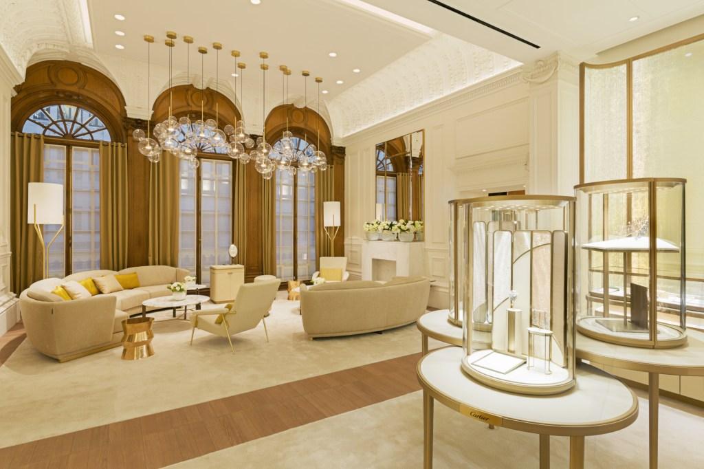 Inside the new Cartier London flagship on New Bond Street