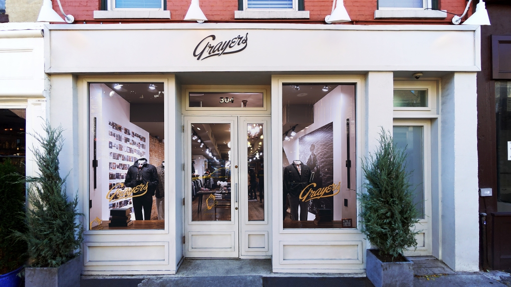 Grayers has had a store on Bleecker Street for about a year.