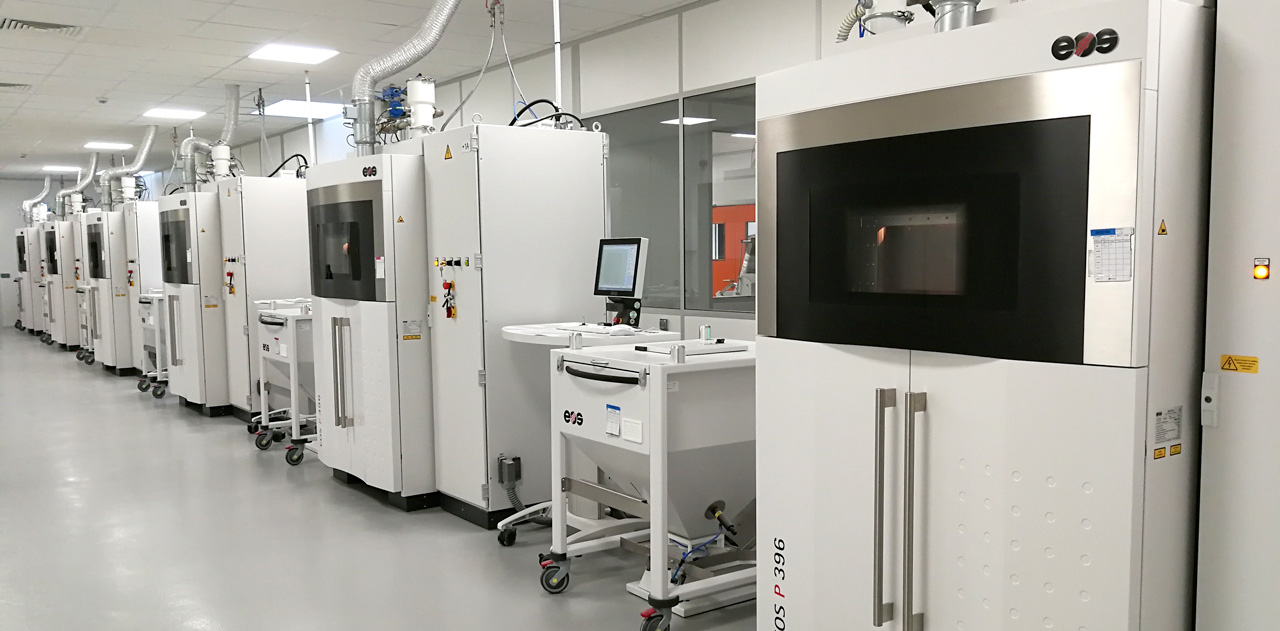 Erpro Group's 3D printing factory