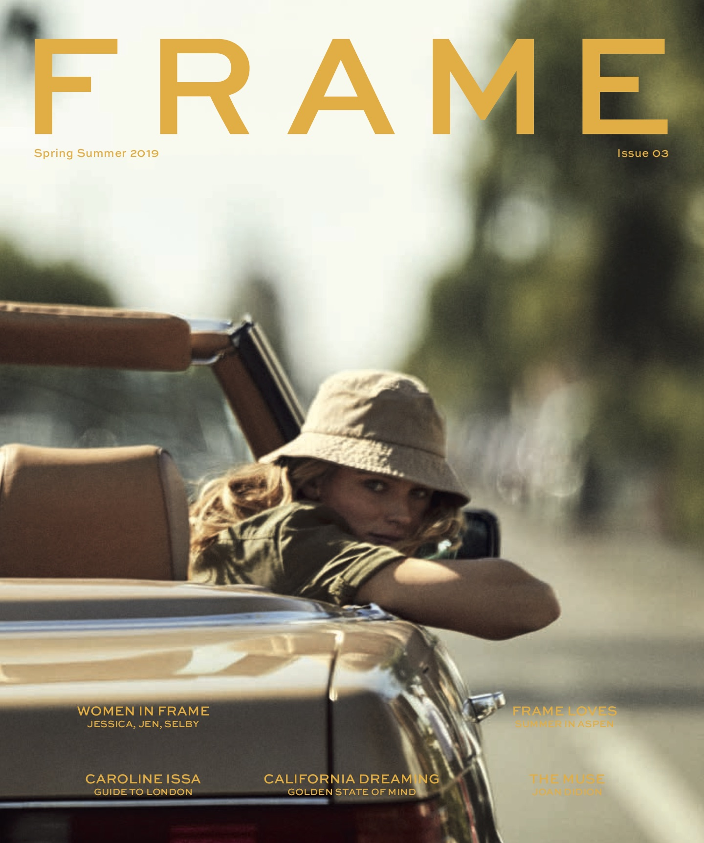 The cover of FRAME Magazine 003