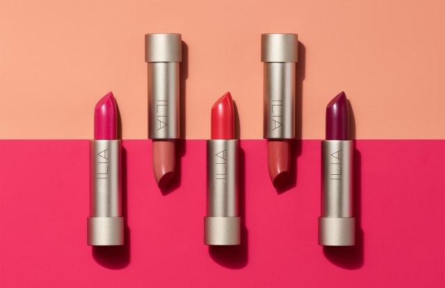 Ilia lipsticks.